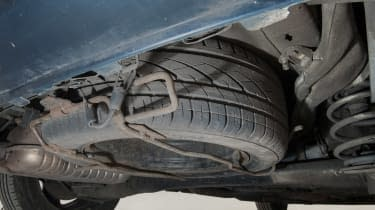 Used Vauxhall Zafira - spare wheel